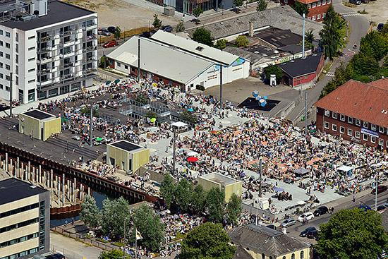 Leje lejligheder ved Promenadebyen på Odense havn